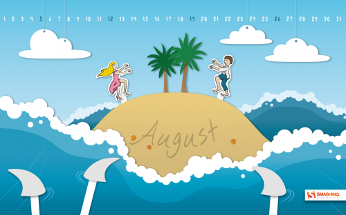 Monthly Quality Desktop Wallpaper - August 2012