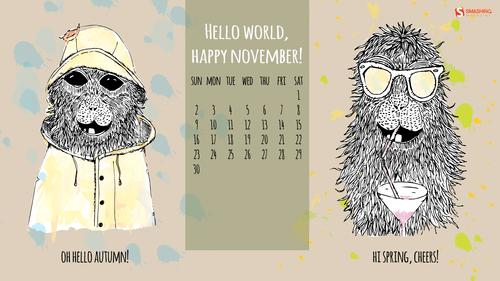 Hello world, happy November!