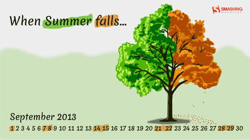 When Summer falls...